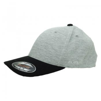 כובע אפור שחור FLEXIT מידה S/M