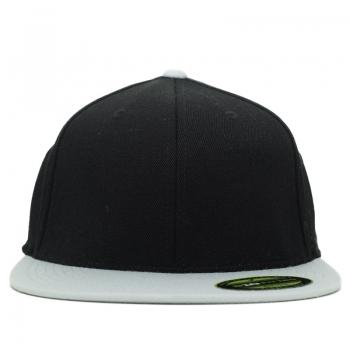 כובע אפור שחור FLEXIT מידה 67/8 - 71/4