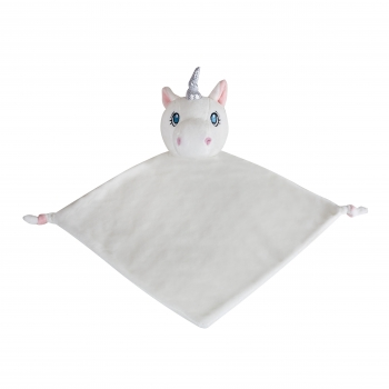 Unicorn-Blankie-White